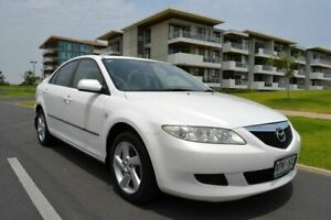 2003 Mazda 6 GG1031 Classic White 4 Speed Sports Automatic Hatchback