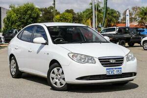 2008 Hyundai Elantra HD SX White 4 Speed Automatic Sedan