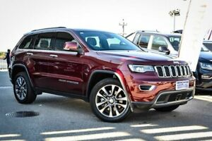 2018 Jeep Grand Cherokee WK MY19 Limited Red 8 Speed Sports Automatic Wagon