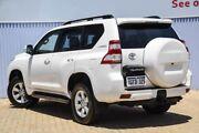 2017 Toyota Landcruiser Prado GDJ150R GXL White 6 Speed Sports Automatic Wagon Morley Bayswater Area Preview