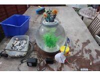 Biorb round fish tank 15 litres
