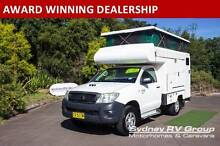 U3135 Toyota Hilux 4WD Adventure Camper,Start Making New Memories Penrith Penrith Area Preview