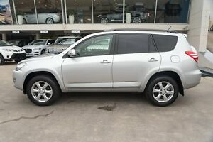 2010 Toyota RAV4 GSA33R MY09 ZR6 Silver 5 Speed Automatic Wagon Brookvale Manly Area Preview
