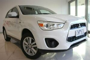 2013 Mitsubishi ASX XB MY14 2WD White 6 Speed Constant Variable Wagon Strathmore Heights Moonee Valley Preview