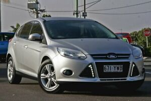 2013 Ford Focus LW MkII Trend PwrShift Silver 6 Speed Sports Automatic Dual Clutch Hatchback Gympie Gympie Area Preview