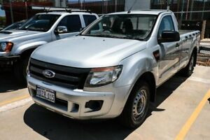 2012 Ford Ranger PX XL 4x2 Silver 6 Speed Manual Cab Chassis