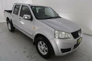 2012 Great Wall V200 K2 MY12 Silver 6 Speed Manual Utility Hamilton North Newcastle Area Preview