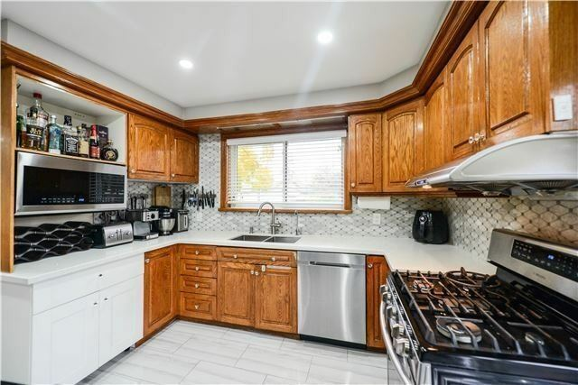 detached home with 5 bedrooms 2 washrooms and basement miss2