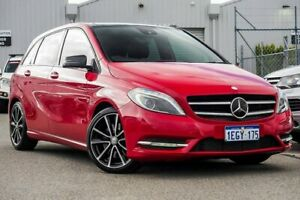 2013 Mercedes-Benz B250 W246 DCT Red 7 Speed Sports Automatic Dual Clutch Hatchback Osborne Park Stirling Area Preview