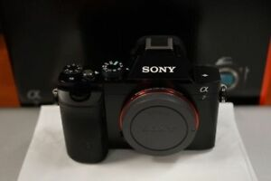 Full-frame Sony a7 Mirrorless Camera with Lens_ Like New