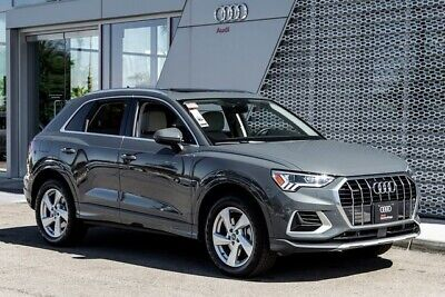 2020 Audi Q3 45 TFSI 2.0T Premium Plus 2020 Audi Q3 45 TFSI 2.0T Premium Plus 8-Speed Automatic with Tiptronic 3586 Mil