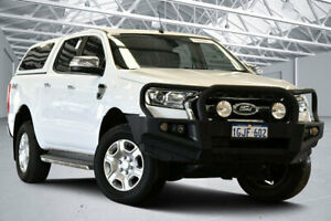2017 Ford Ranger PX MkII MY17 XLT 3.2 (4x4) Cool White 6 Speed Automatic Double Cab Pick Up Perth Airport Belmont Area Preview