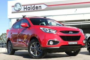 2015 Hyundai ix35 LM3 MY15 SE Red 6 Speed Sports Automatic Wagon Liverpool Liverpool Area Preview