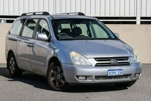 2007 Kia Carnival VQ EX Silver 4 Speed Automatic Wagon Cannington Canning Area Preview