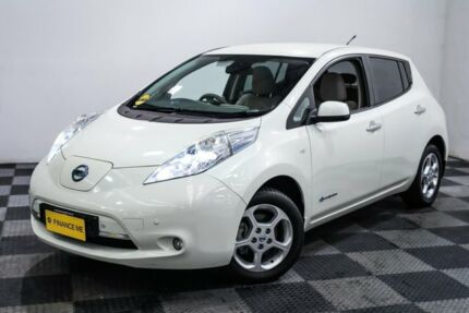 2012 Nissan Leaf ZE0 White 1 Speed Reduction Gear Hatchback Edgewater Joondalup Area Preview