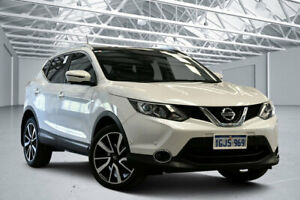 2017 Nissan Qashqai J11 TI Snow Storm Continuous Variable Wagon Perth Airport Belmont Area Preview