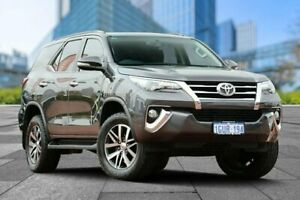 2015 Toyota Fortuner GUN156R Crusade Grey 6 Speed Automatic Wagon Myaree Melville Area Preview