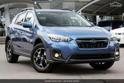 2017 Subaru XV G5X MY18 2.0i-L Lineartronic AWD Blue 7 Speed Constant Variable Wagon Sutherland Sutherland Area Preview