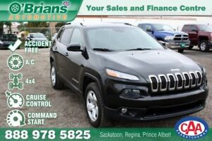 2014 Jeep Cherokee North - Accident Free! w/Command Start, 4x4