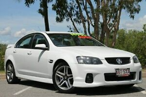 2012 Holden Commodore VE II MY12 SV6 White 6 Speed Sports Automatic Sedan Bungalow Cairns City Preview