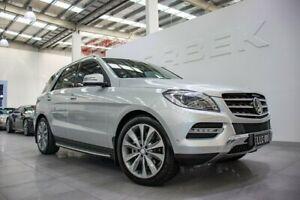 2012 Mercedes-Benz ML350 CDI BlueTEC 166 4x4 Iridium Silver 7 Speed Automatic Wagon Port Melbourne Port Phillip Preview
