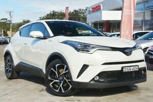 2017 Toyota C-HR NGX10R (2WD) Crystal Pearl Continuous Variable Wagon Wyoming Gosford Area Preview