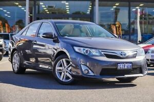 2013 Toyota Camry AVV50R Hybrid HL Grey 1 Speed Constant Variable Sedan Hybrid