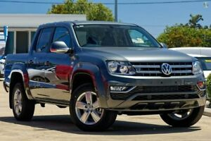2019 Volkswagen Amarok 2H MY19 TDI550 4MOTION Perm Highline Grey 8 Speed Automatic Utility Belconnen Belconnen Area Preview