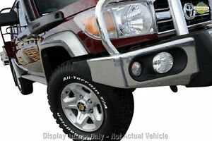2012 Toyota Landcruiser VDJ79R MY13 GXL Double Cab French Vanilla 5 Speed Manual Cab Chassis Wangara Wanneroo Area Preview