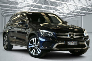 2017 Mercedes-Benz GLC250 253 MY17 Blue 9 Speed Automatic Wagon Perth Airport Belmont Area Preview