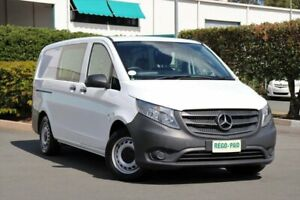 2015 Mercedes-Benz Vito 447 114BlueTEC Crew Cab 7G-Tronic + White 7 Speed Sports Automatic Van