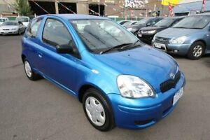 2003 Toyota Echo NCP10R MY03 Blue 4 Speed Automatic Hatchback