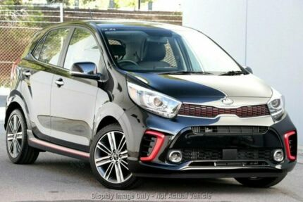 2019 Kia Picanto JA MY19 GT Black 5 Speed Manual Hatchback Old Reynella Morphett Vale Area Preview