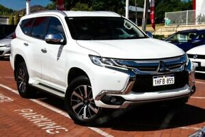 2016 Mitsubishi Pajero Sport QE MY17 Exceed White 8 Speed Sports Automatic Wagon Myaree Melville Area Preview