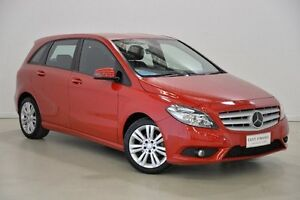 2013 Mercedes-Benz B180 W246 BlueEFFICIENCY DCT Red 7 Speed Sports Automatic Dual Clutch Hatchback Mansfield Brisbane South East Preview