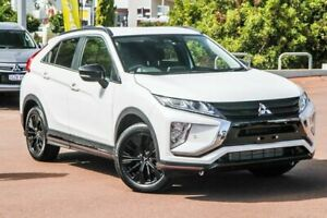 2018 Mitsubishi Eclipse Cross YA MY19 Black Edition 2WD White 8 Speed Constant Variable Wagon Cannington Canning Area Preview