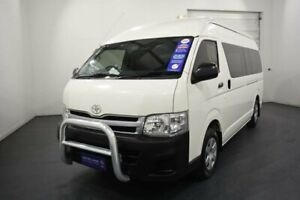 2013 Toyota HiAce KDH221R MY12 Upgrade SLWB French Vanilla 4 Speed Automatic Van Oakleigh Monash Area Preview