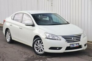 2013 Nissan Pulsar B17 ST-L White 1 Speed Constant Variable Sedan Watsonia Banyule Area Preview
