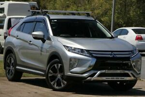 2017 Mitsubishi Eclipse Cross YA MY18 LS 2WD Sterling Silver 8 Speed Constant Variable Wagon Caloundra West Caloundra Area Preview