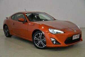 2014 Toyota 86 ZN6 GTS Orange 6 Speed Sports Automatic Coupe Mansfield Brisbane South East Preview