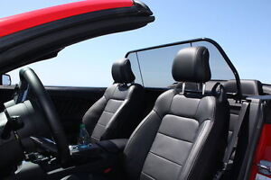 Mustang Wind Deflectors - Love the Drive