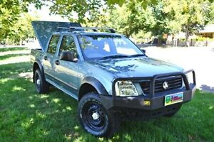 2004 Holden Rodeo RA LX (4x4) Blue 4 Speed Automatic Cumberland Park Mitcham Area Preview