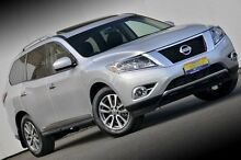 2015 Nissan Pathfinder R52 MY15 ST-L X-tronic 4WD Silver 1 Speed Constant Variable Wagon Ferntree Gully Knox Area Preview