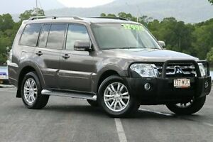 2014 Mitsubishi Pajero NW MY14 VR-X Grey 5 Speed Sports Automatic Wagon Bungalow Cairns City Preview