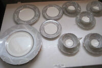 MADE IN ENGLAND COALPORT YORK DISHES SET