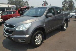 2014 Holden Colorado RG MY14 LT Crew Cab Grey 6 Speed Sports Automatic Utility Maitland Maitland Area Preview