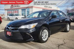 2017 Toyota Camry LE - 160 points inspection =  Peace of Mind.