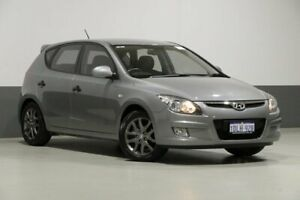 2010 Hyundai i30 FD MY11 Trophy Silver 5 Speed Manual Hatchback Bentley Canning Area Preview