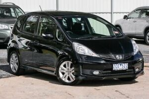 2012 Honda Jazz GE MY12 Vibe-S Black 5 Speed Automatic Hatchback Ferntree Gully Knox Area Preview