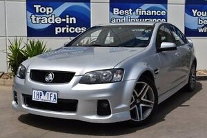 2011 Holden Commodore VE II MY12 SV6 Silver 6 Speed Sports Automatic Sedan Epping Whittlesea Area Preview